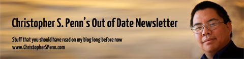 banner from Out of Date newsletter by Christopher S. Penn