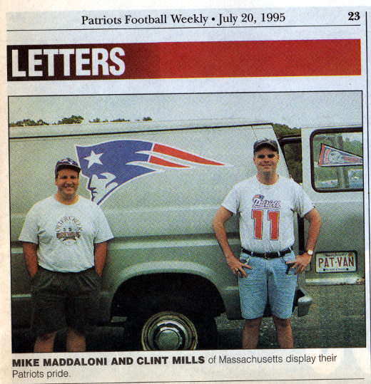 clipping of Mike and Clint with the Pat Van