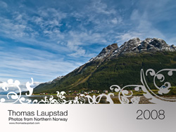 cover of the Northern Norway 2008 Calendar
