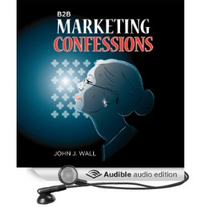 image of B2B Marketing Confessions Audible cover