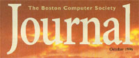 image of Boston Computer Society Journal cover