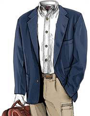 image of Transatlantic Travel Jacket from Duluth Trading