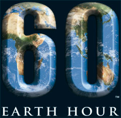 Earth Hour 2008 logo