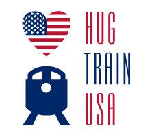 Hug Train USA logo