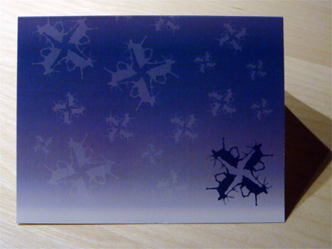 photo of front of Dunkirk Systems, LLC 2008 holiday card