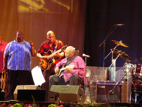 Wordless Wednesday - B.B. King At The 2008 Chicago Blues Festival