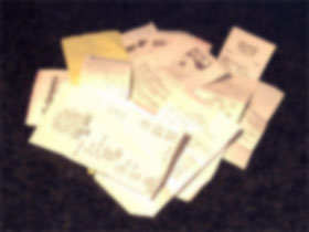 photo of retail receipts