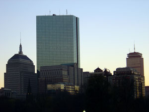 photo of Boston's Back Bay for BostonPoint.com