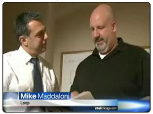 Mike Maddaloni interviewed on CBS2 Chicago