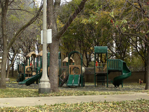 photo of Daley Bicentennial Plaza playground