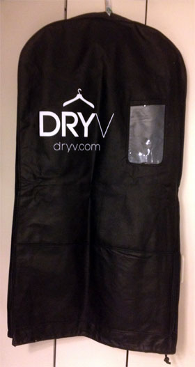 photo of Dryv garment bag