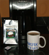 photo of brewed Jelk's Coffee