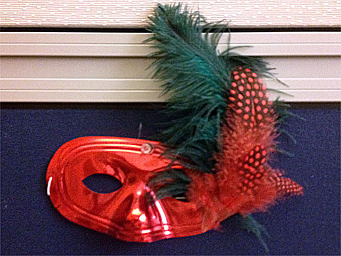 photo of Mardi Gras mask
