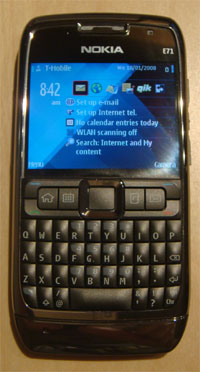 photo of Nokia E71