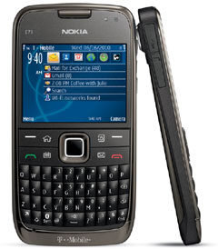 photo of Nokia E73 Mode
