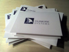 handwritten note cards from Dunkirk Systems