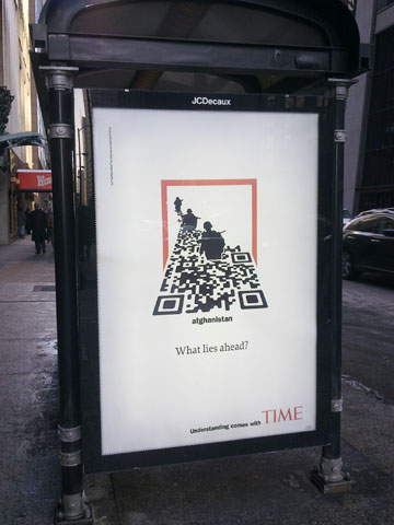 The hot iron time magazine artistic qr codes time magazine qr code ad sciox Choice Image
