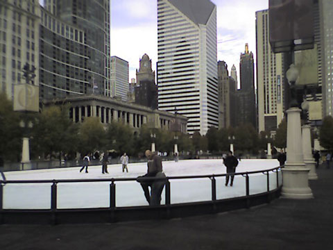 Ice Skating Opens Today at Millennium Park in Chicago