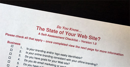 photo of The State of Your Web Site Web Redesign Checklist