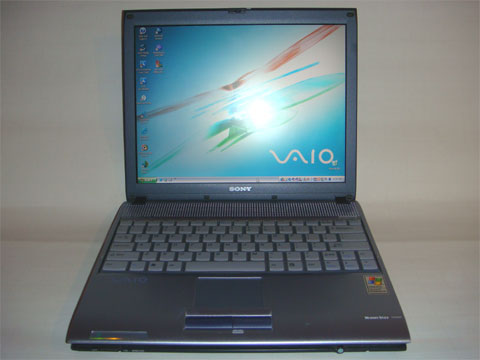 photo of Sony VAIO V505EX Notebook PC on eBay