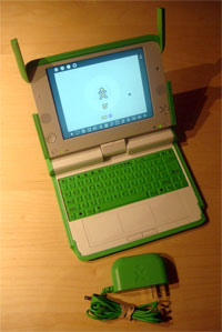 photo of my XO OLPC One Laptop Per Child Notebook for sale on eBay