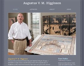 home page of Web site of Augustus V. M. Higginson
