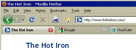 screenshot of favicons